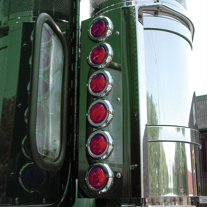 """Freightliner Classic FLD 13"""" Donaldson Rear Air Cleaner"""