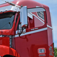 Freightliner Century Columbia Side Door Accents