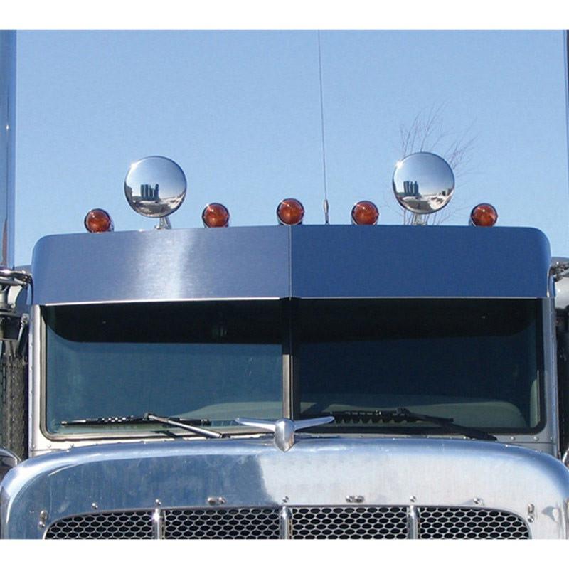 """Peterbilt Boltless Standard Cab 14"""" Sunvisor"""