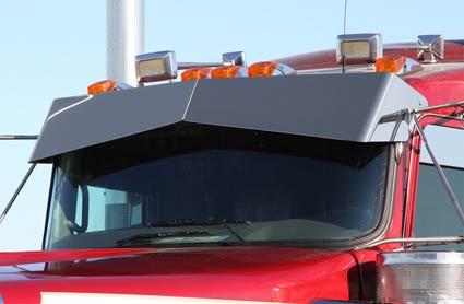Kenworth Blind Mount Untie Drop Visor 2007 Amp Newer For