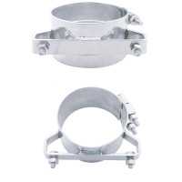 Freightliner Wide Band Clamp Stainless Steel