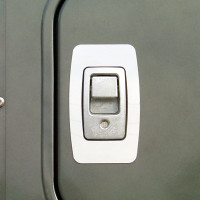 Freightliner Century Columbia Storage Door Latch Trim