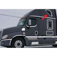 Freightliner Cascadia Upper Sleeper Window Trim Mounted