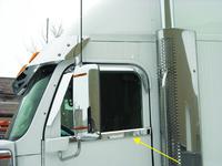 Freightliner Coronado Under Window Door Accent