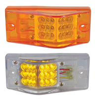 Rectangular Amber Clearance Marker LED