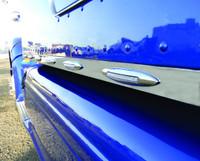 "Peterbilt 386 70"" Cab Sleeper & Extension Panel Kit With Slim Flatline LEDs For Trucks With Fairings"