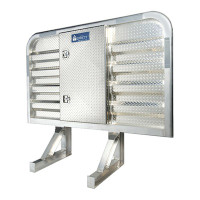 Dyna Light Security Headache Rack With Center Enclosure