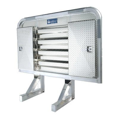 "Dyna Light Security Headache Rack With 9"" Side Enclosures"