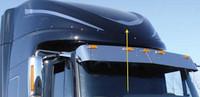 nternational ProStar & LoneStar Front Upper Sleeper Trim On Truck