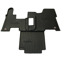"Peterbilt 389 386 365 367 Minimizer Floor Mat Without Ultrashift 27"" From Driver Seat Base To Dash Kick Panel"