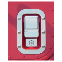 International I-Model Cab Door Handle Surrounds With Dimples