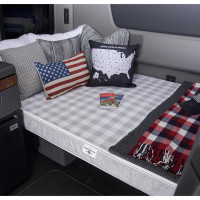 "Truck Mattress Sleep 4"" Polyurethane Foam On Truck"