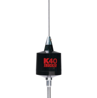 "K40 49"" Center Load CB Antenna 10"" Shaft Trucker Series"