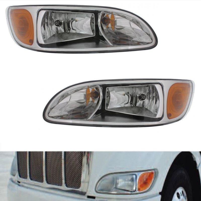 Peterbilt 330 335 384 386 387 Headlights  With Truck
