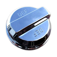 Peterbilt DEF Tank Cap Chrome