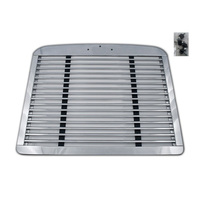 Freightliner FLD 120 Classic Grill Brushed Aluminum Grille