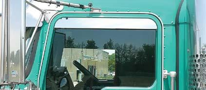Kenworth Top Of Door Trim Chop Look for Day-Light Door