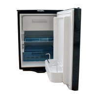 Truck Fridge Built-In 12-Volt DC Refrigerator Open