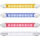 High Power LED Auxiliary Utility Light Bar Styles