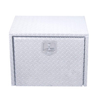 "24"" Diamond Plate Aluminum Tool Box"