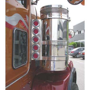Kenworth W900 13 Quot Donaldson Rear Air Cleaner Light Bar