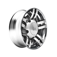 Spyder 225 Series Chrome Rear Axle Wheel Cover