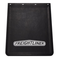 "Rubber Mud Flap With White Freightliner Logo 24"" x 30"""