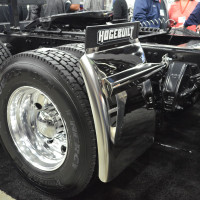 "Hogebuilt 30"" Quarter Fenders With Custom Mounting Kit On Truck"