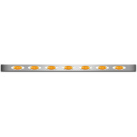 Peterbilt 359 379 388 389 Premium Sleeper Panel M1 Style LED Lights