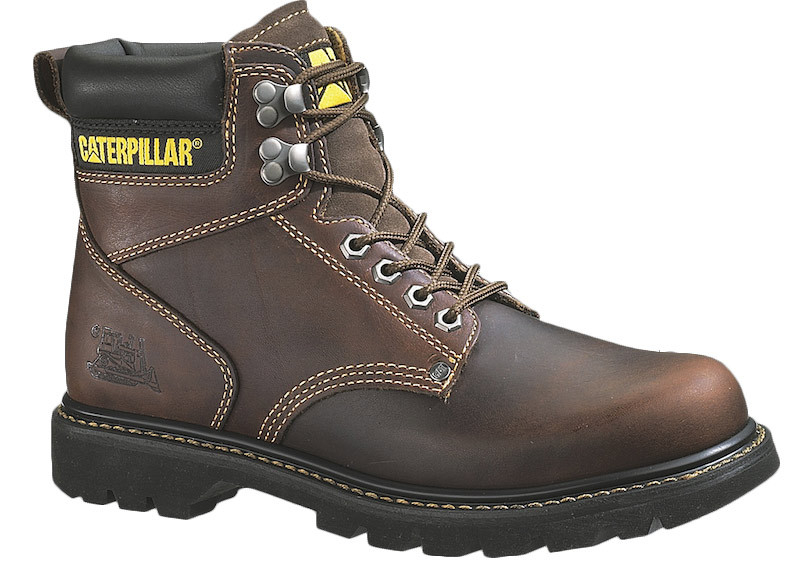 17b70634b590 Mens Second Shift Steel Toe Trucker CAT Work Boots - Raney s Truck ...