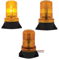 3 High Power LED Micro Beacon Light - Permanent Mounting