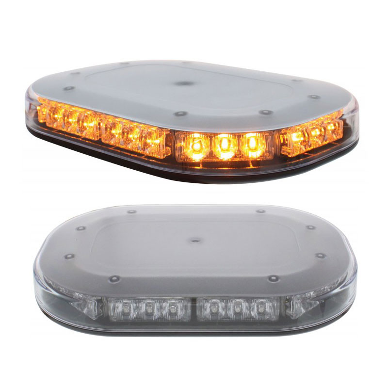 30 High Power LED Micro Strobe Clear Lens Warning Bar