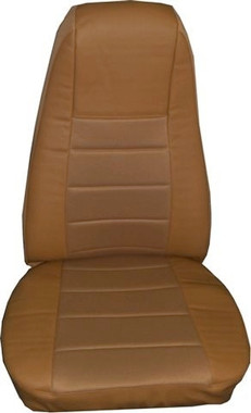 Tan Vinyl Seat Cover With Fabric Amp Pocket Raney S Truck