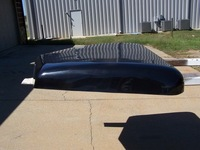 Peterbilt 379 Fiberglass Flat Top Roof Cap