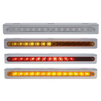 "Sequential 12"" LED Light Bar With Bracket"
