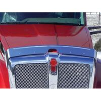 Kenworth T680 Hoodshield Bug Deflector On Truck
