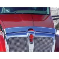 Kenworth T680 Hoodshield Bug Deflector On Truck