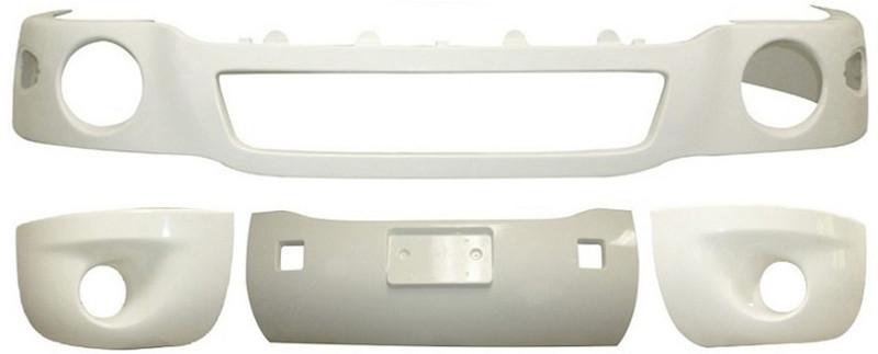 Kenworth T2000 Fiberglass Bumper & Air Dam Package 2005 & Newer