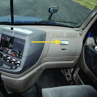 Freightliner Cascadia Glove Box Handle Trim