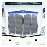Peterbilt 579 Punched Grill Insert Mounted