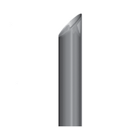 """Lincoln Chrome 7"""" Miter Exhaust Stack"""