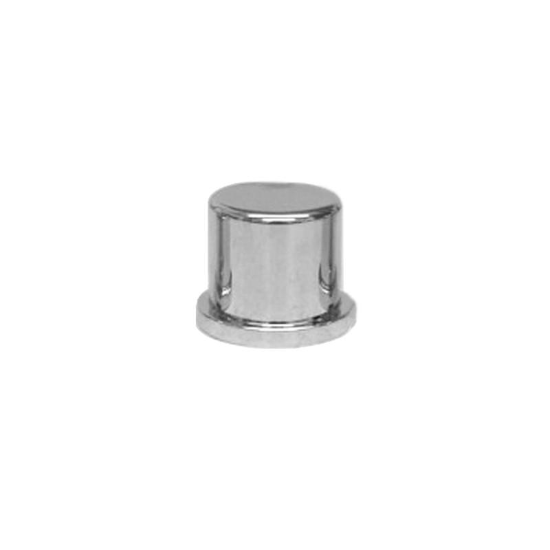 """5 nut covers 3//8/"""" /& 10MM flat top hat chrome plastic 1//4/"""" tall Peterbilt KW"""