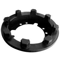 Lifetime Trailer Axle Attachment Ring and Cover
