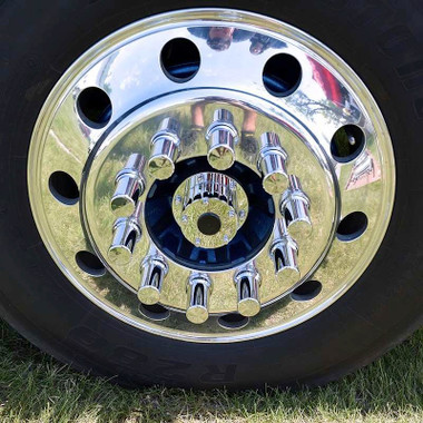 Semi Mud Flaps >> Lifetime Chrome Front Hub Oil Cap Replacement Cover For ...