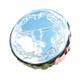 Chrome Kenworth Steerhead Ribbed Fuel Cap Cover