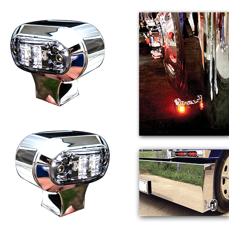 Chrome Bumper Turn Signals