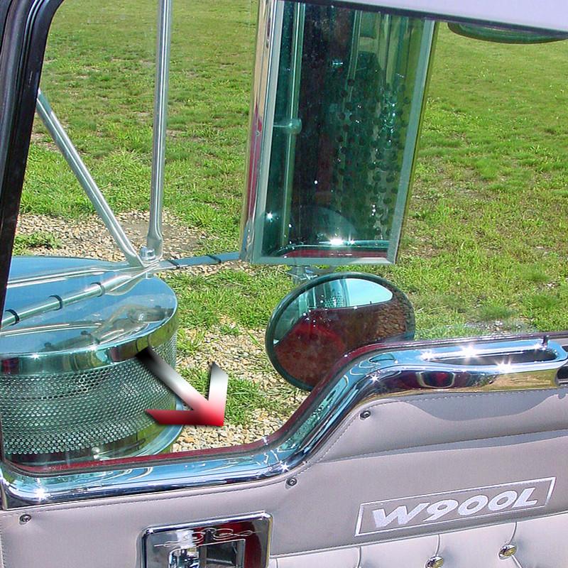 Kenworth Cab Door Window Sill Trim