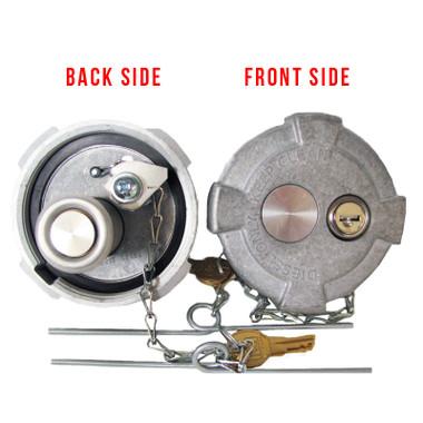 Heavy Duty Aluminum Locking Fuel Cap Replaces 90 02269 90