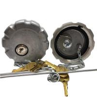 """Volvo Low Sulfur Locking 2.5"""" Fuel Cap"""