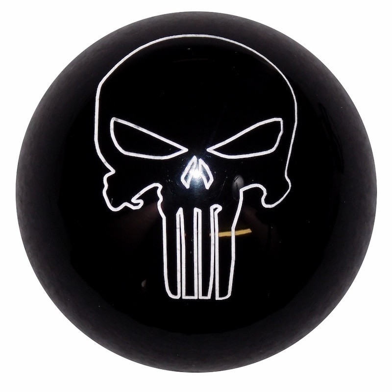 Punisher Skull Shift Knob Kit Raney S Truck Parts
